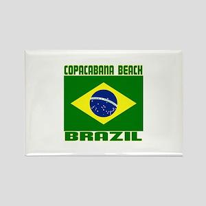 Copacabana Beach, Brazil Rectangle Magnet