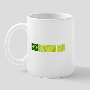 Copacabana Beach, Brazil Mug