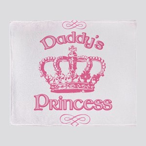 Daddys Princess Throw Blanket