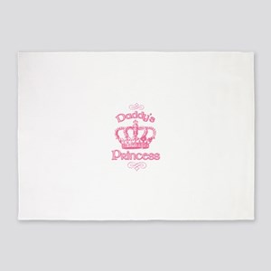 Daddys Princess 5'x7'Area Rug