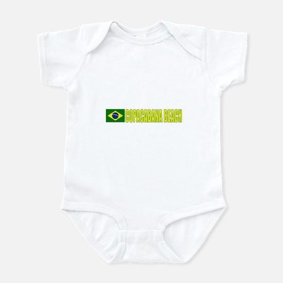 Copacabana Beach, Brazil Infant Bodysuit