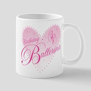 Birthday Ballerina Mugs