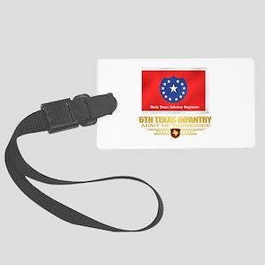 6th Texas Infantry Luggage Tag
