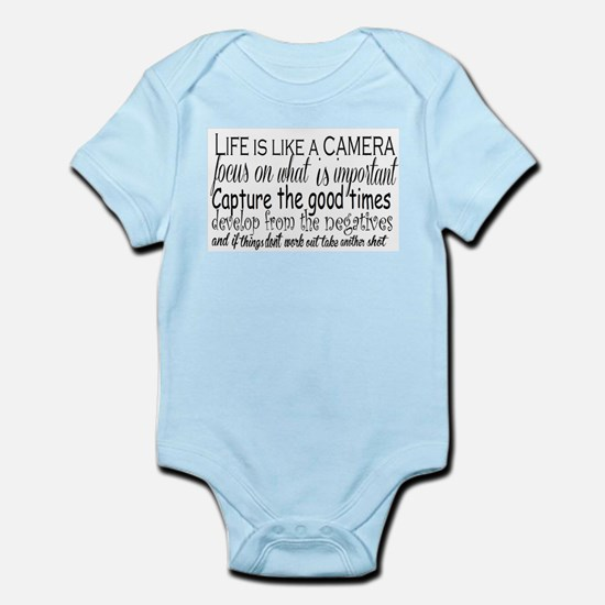 life is like a camera Body Suit