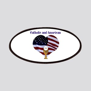 Catholic AND American Patch