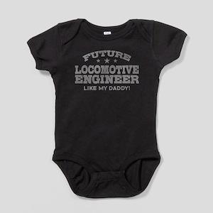 Future Locomotive Engineer Baby Bodysuit