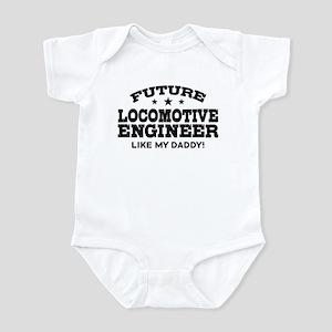 Future Locomotive Engineer Infant Bodysuit