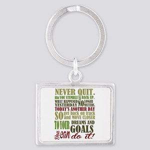 Never Quit Keychains