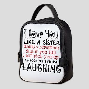 like a sis Neoprene Lunch Bag