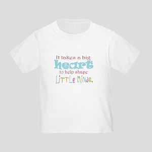 big heart: teacher, T-Shirt