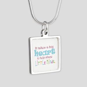 big heart: teacher, Necklaces