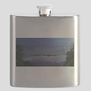 Island Park - Evening Twilight Flask