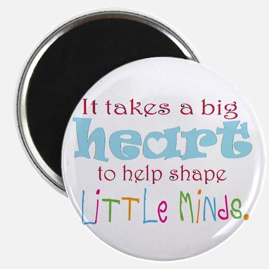 big heart: teacher, Magnets