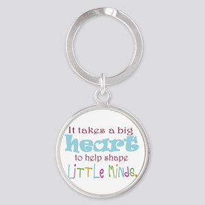 big heart: teacher, Keychains