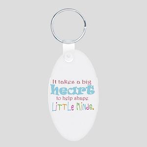 big heart: teacher, Keychains