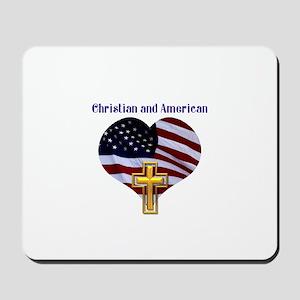 Christian AND American Mousepad