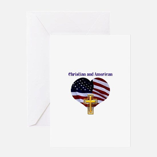 Christian AND American Greeting Card