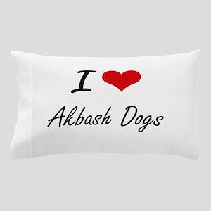 I love Akbash Dogs Pillow Case