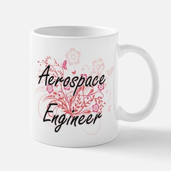 Aerospace Engineer Artistic Job Design with F Mugs