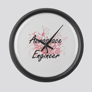 Aerospace Engineer Artistic Job D Large Wall Clock
