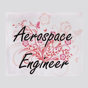 Aerospace Engineer Artistic Job Desi Throw Blanket