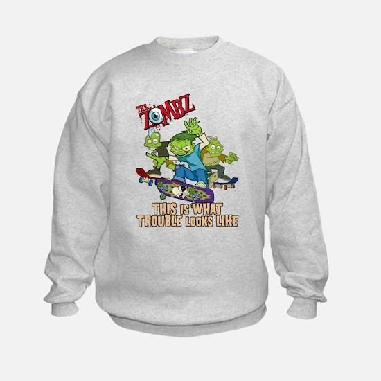 Cute Goth cartoons Sweatshirt
