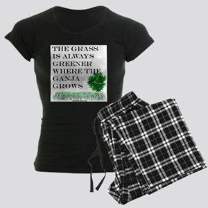 The Grass is Always Greener Women's Dark Pajamas
