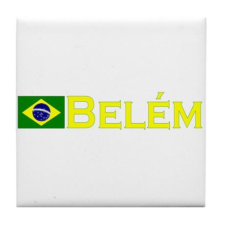 Belem, Brazil Tile Coaster