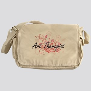 Art Therapist Artistic Job Design wi Messenger Bag