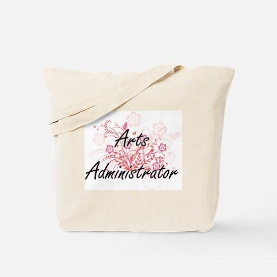 Arts Administrator Artistic Job Design wi Tote Bag