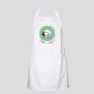 Peanuts Snoopy Merry and Bright Apron