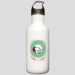 Peanuts Snoopy Merry a Stainless Water Bottle 1.0L