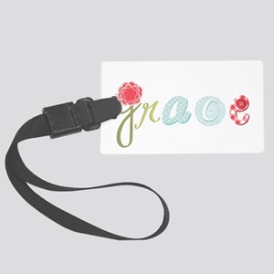 Grace Large Luggage Tag