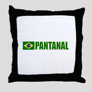 Pantanal, Brazil Throw Pillow
