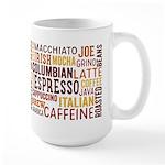 Coffee Word Cloud Mugs