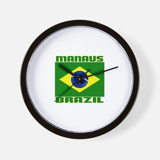 Manaus, Brazil Wall Clock
