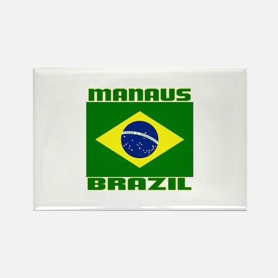 Manaus, Brazil Rectangle Magnet