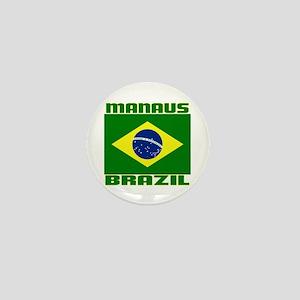 Manaus, Brazil Mini Button