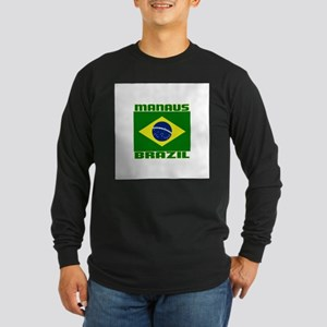 Manaus, Brazil Long Sleeve Dark T-Shirt