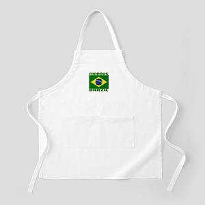Manaus, Brazil BBQ Apron