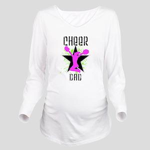 Cheer Dad Long Sleeve Maternity T-Shirt