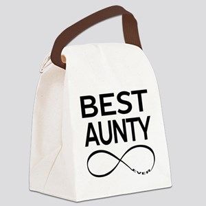 BEST AUNTY EVER Canvas Lunch Bag