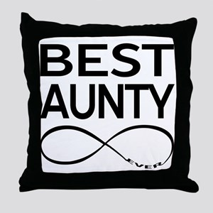 BEST AUNTY EVER Throw Pillow