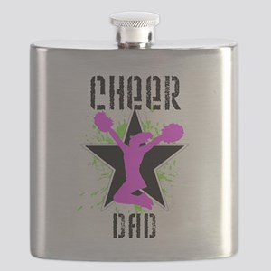 Cheer Dad Flask