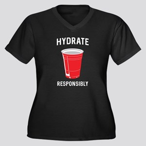 Hydrate responsibly Plus Size T-Shirt