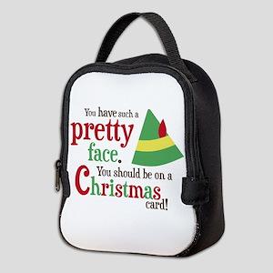 Elf Pretty Face Neoprene Lunch Bag