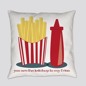 Ketchup To My Fries Everyday Pillow