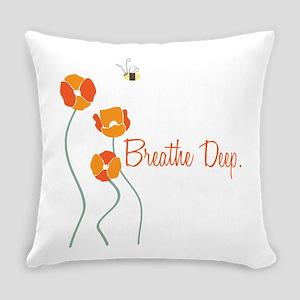 Breathe Deep Everyday Pillow