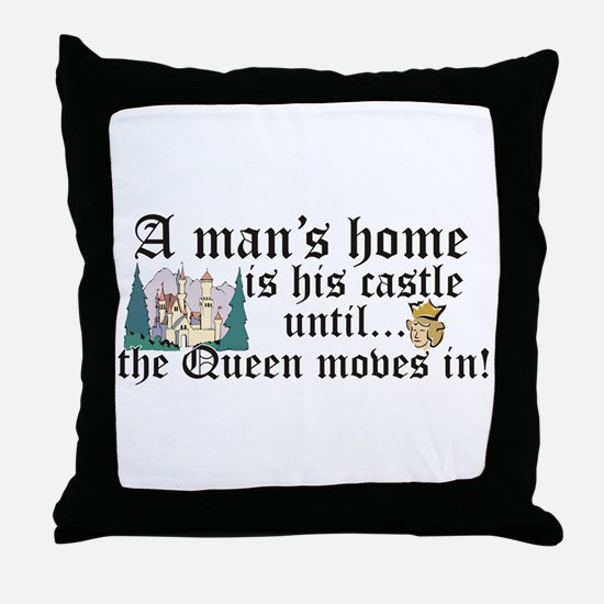 Unique Humour Throw Pillow