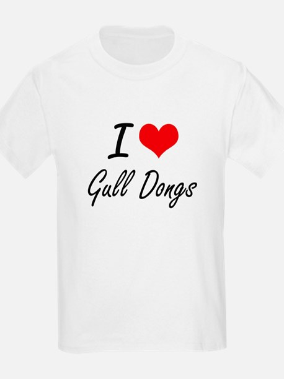 I love Gull Dongs T-Shirt